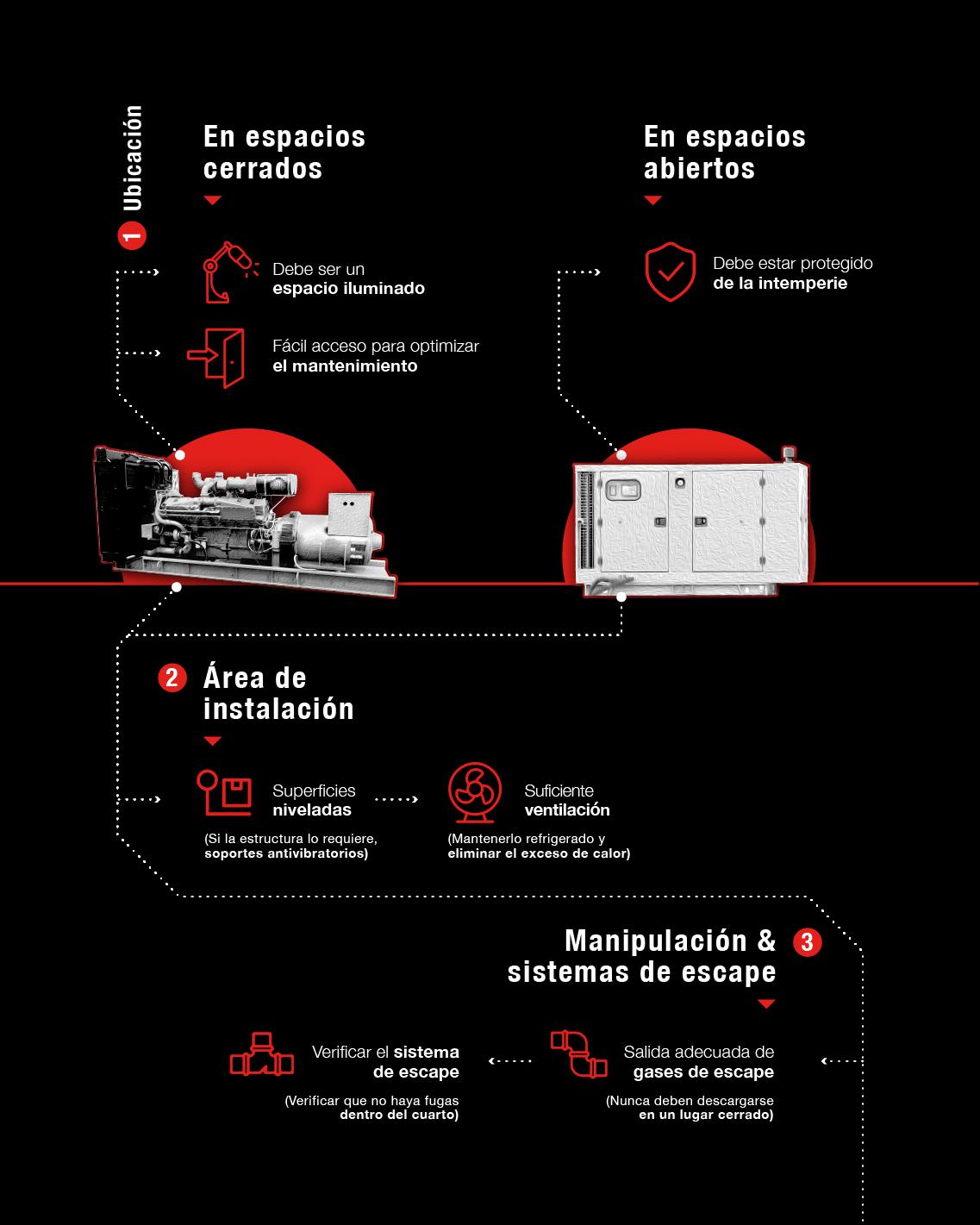 tips instalación plantas eléctricas cummins