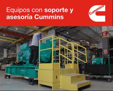 plantas eléctricas cummins Colombia Ecuador